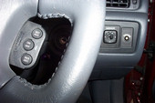 Steering wheel mounted control